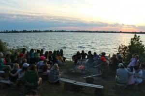 Family Camp #1 Campfire