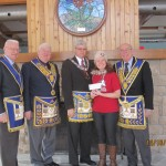 Masons of Ontario Donate over $44K to Camp Trillium