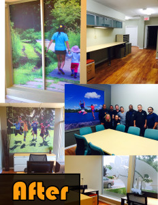 Camp Trillium Hamilton office after makeover